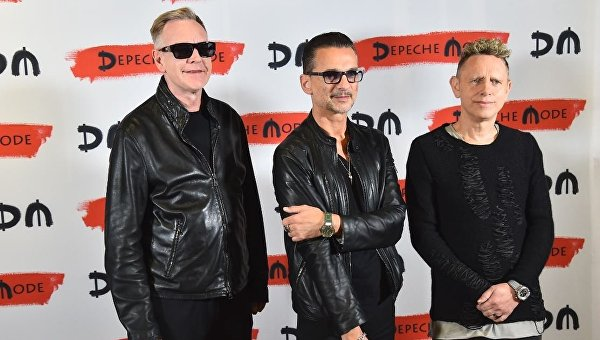 Члены рок-группы Depeche Mode