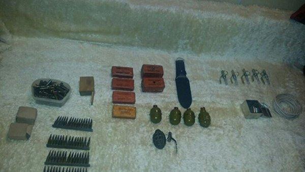 Помаршруту марша Патриотов вКиеве найден схрон совзрывчаткой— Шкиряк