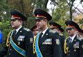 Первый марш ко Дню защитника Украины в Днепре