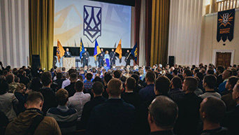 Съезд Нацкорпуса в Киеве