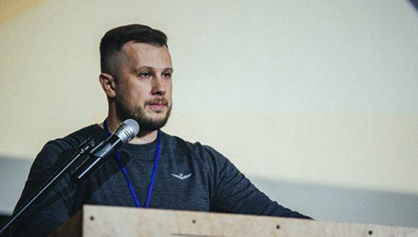 Нардеп, лидер Национального корпуса Андрей Билецкий. Архивное фото