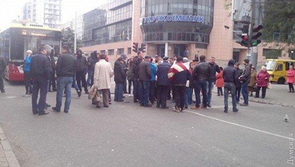 Украинцы остались без электричества