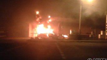 На АЗС в Одессе произошел взрыв