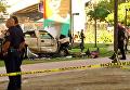 В Сан-Диего автомобиль упал с моста на людей