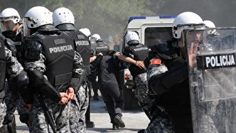 Полиция Черногории. Архивное фото