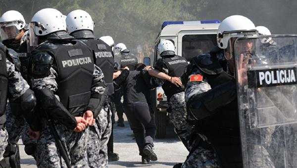 СМИ проинформировали о  задержании подозреваемых вподготовке терактов навыборах вЧерногории