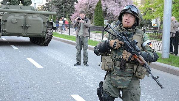 Командир ополчения ДНР Арсен Павлов с позывным Моторола