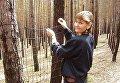 Одна из украинских актрис Ирина Складан, которая снялась в фильме Волынь
