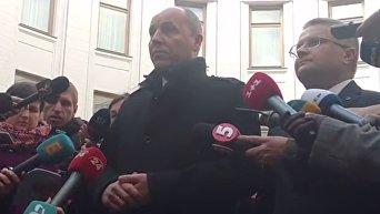 Андрей Парубий просит польских руководителей не комментировать скандальный фильм Волынь