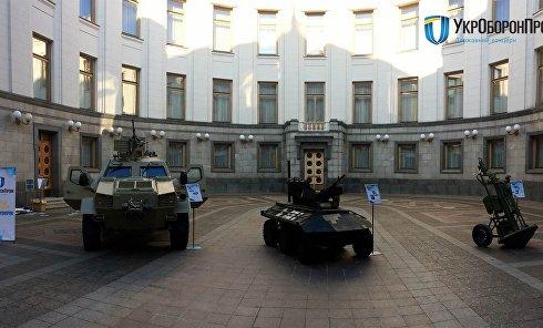 Военная техника в Верховной Раде