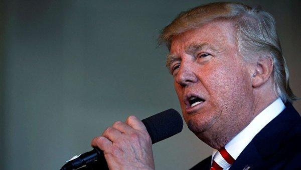 Кандидат в президенты США от Республиканской партии Дональд Трамп в Колорадо