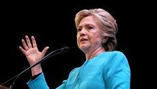 Кандидат в президенты США от Демократической партии Хиллари Клинтон в Сиэтле