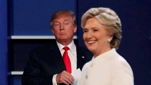 Хиллари Клинтон опережает Дональда Трампа на12% — Опрос АВС