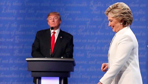 Заключительные дебаты Дональда Трампа и Хиллари Клинтон