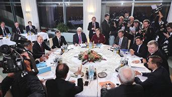Встреча нормандской четверки в Берлине
