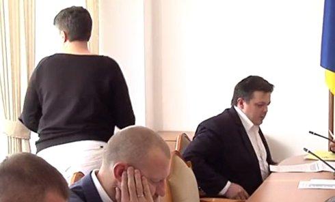 Савченко сорвала заседание комитета ВР