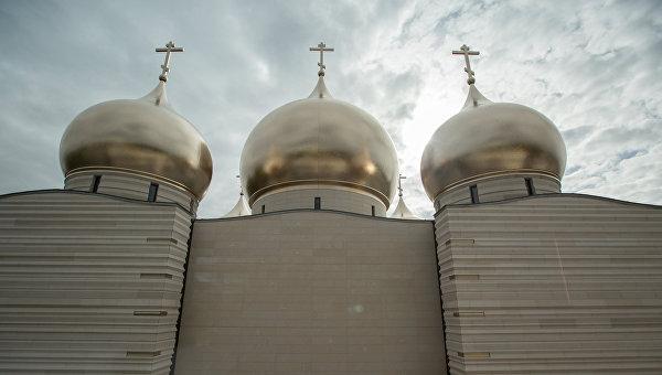 Charlie Hebdo обнародовал карикатуру наоткрытие православного храма встолице франции