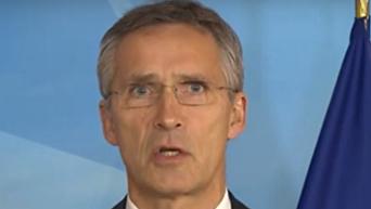 Столтенберг: НАТО никогда не признает присоединение Крыма к РФ
