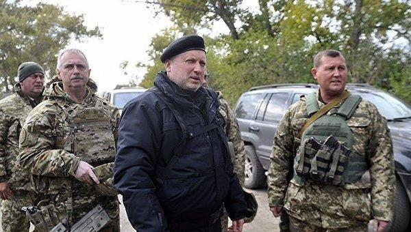 Турчинов объявил оподготовке наступления боевиков наМариуполь