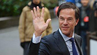 Премьер-министр Нидерландов Марк Рютте. Архивное фото