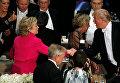 Клинтон и Трамп приняли участие в совместном обеде