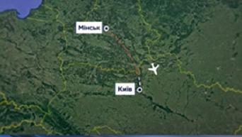 Принудительное возвращение самолета Белавиа в Киев: комментарий СБУ. Видео