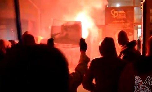 Акция протеста против концерта Потапа и Насти в Хмельницком