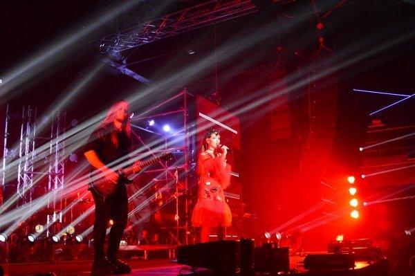 The Hardkiss отметила 5-летие группы 2-мя грандиозными шоу