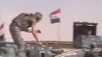 Иракские военные взяли штурмом город близ Мосула. Видео