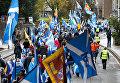Марш за независимость Шотландии в Эдинбурге. Архивное фото