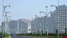 Вид на Ашхабад