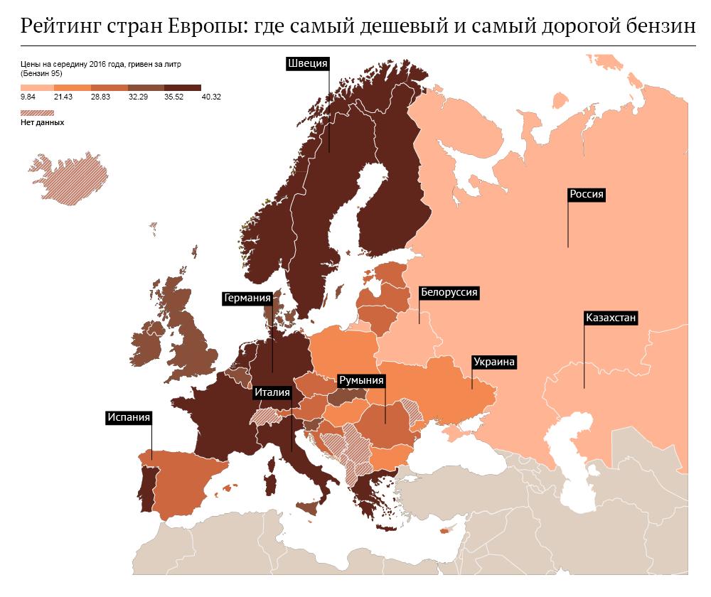 Украина стала рынком нелегального топлива