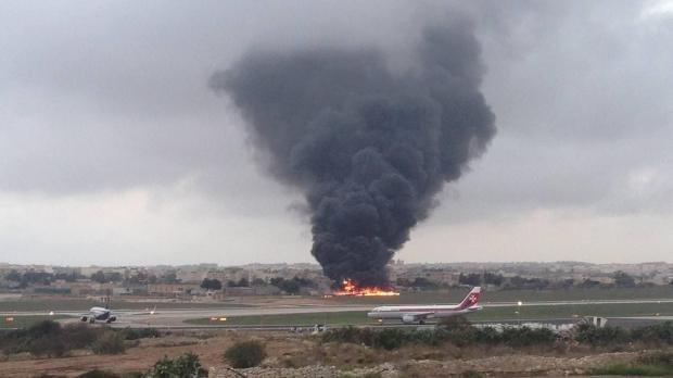 НаМальте разбился самолет спредставителями европейского союза, все погибли