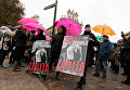 В Варшаве продолжается вторая общепольская забастовка женщин против запрета абортов. Женщины протестуют против попыток властей законодательно ужесточить ограничения на проведение абортов.