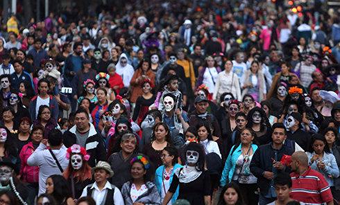 День мертвецов в Мексике