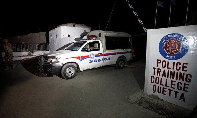 Нападение на полицейскую академию в Пакистане