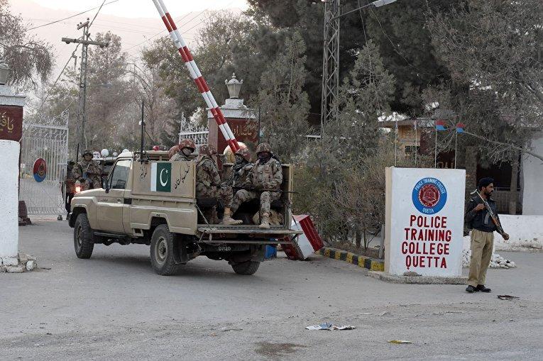 Вооруженное нападение на полицейскую академию в пакистанской Кветте