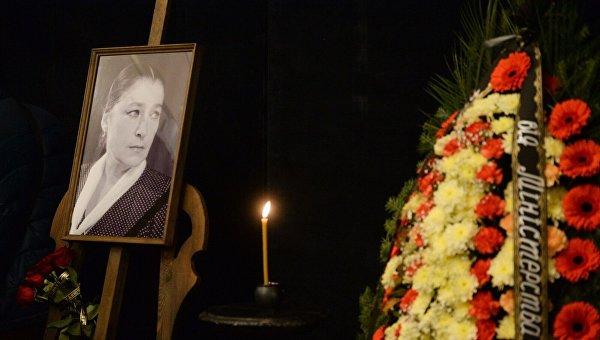Прощание с Валерий Заклунной в Киеве