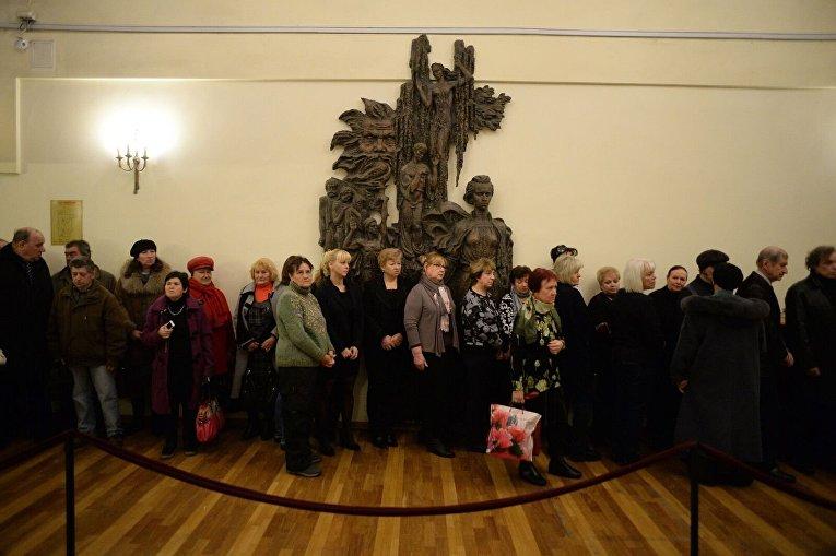 ВКиеве похоронили народную артистку Валерию Заклунную