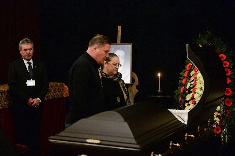 Прощание с Валерией Заклунной в Киеве
