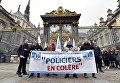Акция протеста против нападений на полицию, Париж, Франция