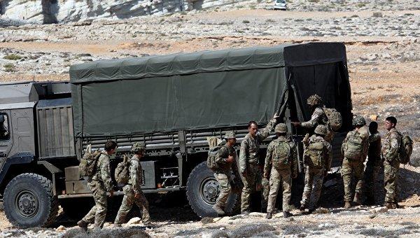 Британский солдат умер вИраке в итоге инцидента