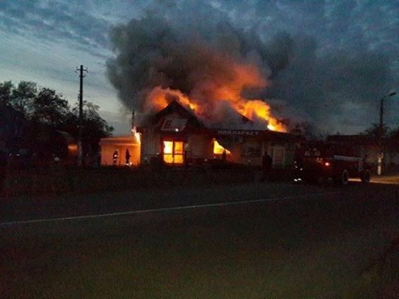 ВКиевской области неизвестный подорвал магазин