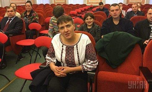 Надежда Савченко в Верховном суде РФ 26 октября 2016 года