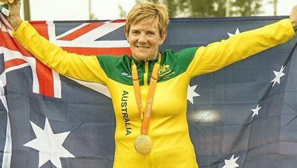 Австралийская велогонщица Кэрол Кук