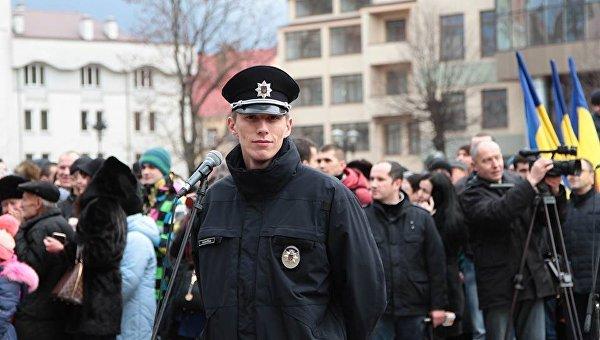 ВИвано-Франковске начальника милиции подозревают визбиении солдата АТО