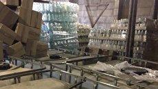 В Киеве накрыли масштабное производство суррогатного алкоголя
