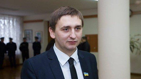 Депутат Житомирского облсовета Александр Николайчук