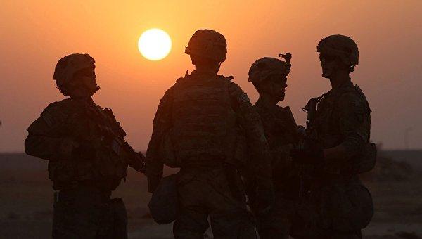 Американские солдаты на юге иракского города Мосул