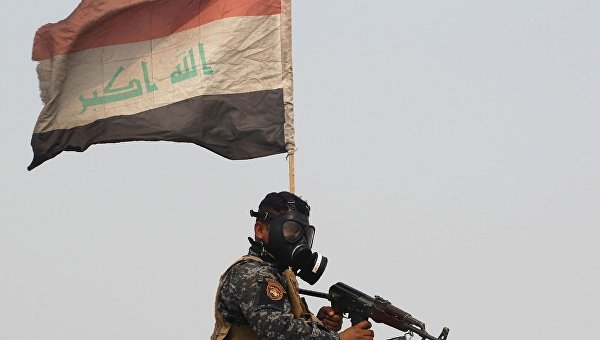 Иракская армия наступает на Мосул. Архивное фото